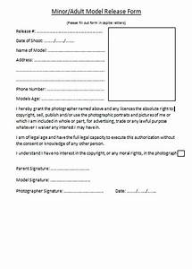 Alice barnard photography model release form for Photography waiver and release form template