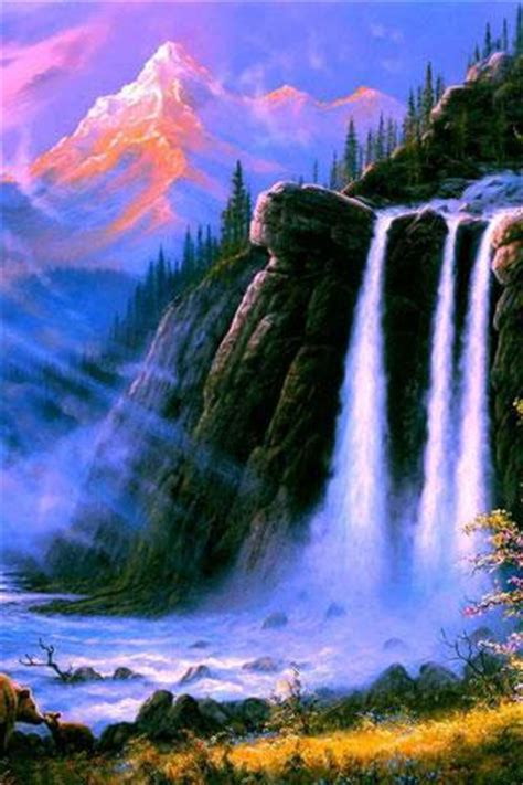Beautiful 3d Nature Wallpaper Android by 3d Waterfall Hd Wallpaper Android Informer