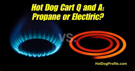 propane  electric hot dog carts hot dog cart