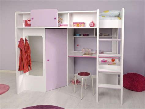 lit mezzanine armoire bureau lit mezzanine bureau penderie clasf