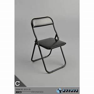 Chaise Pliante Noire : chaise pliante noir machinegun ~ Teatrodelosmanantiales.com Idées de Décoration