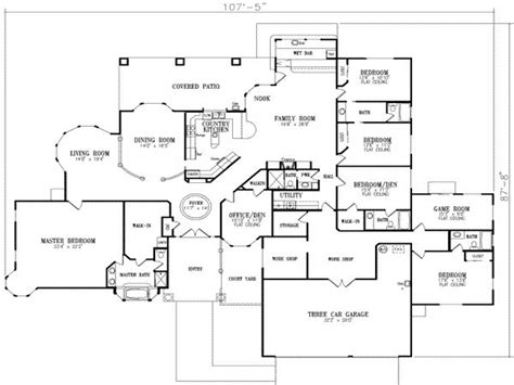 house plans 5 bedrooms 5 bedroom house floor plans 2 house modern 5