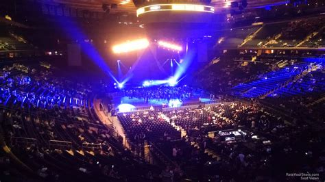 Madison Square Garden Section 202 Concert Seating