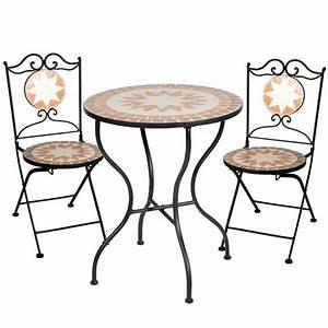 Mosaik Gartenmöbel Set : bistro garnitur finca mosaik gartenm bel set sitzgruppe ~ Watch28wear.com Haus und Dekorationen