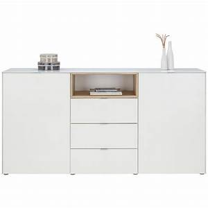 Sideboard Eiche Modern : sideboard wei sonoma eiche online kaufen m max ~ Frokenaadalensverden.com Haus und Dekorationen