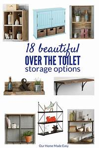 18 Ideas for Small Bathroom Storage! [ORC Week 5] • Our