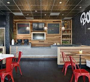 Boba Tea Shop Modern and industrial style See more work ...