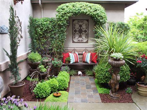 courtyard garden design ideas hgtv