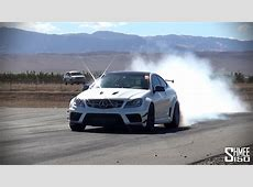 Weistec 780hp C63 AMG Black Series Burnouts and Drag