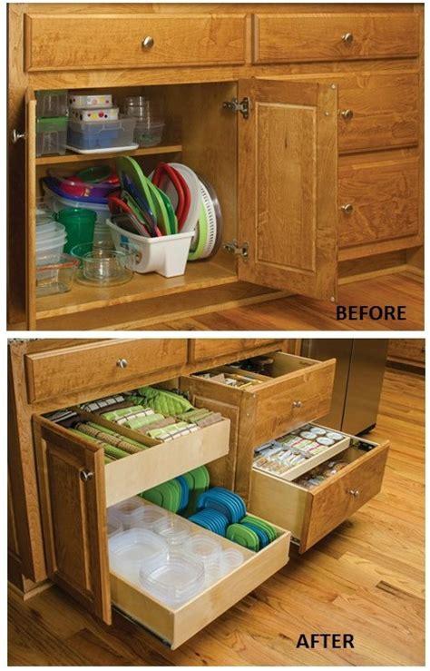 remodelaholic convenient  space saving cabinet