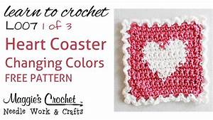 Part 1 of 3 Learn Crochet - CHANGING COLORS Intarsia