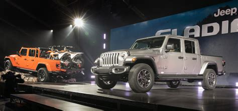 jeep gladiator pickup  offer  diesel  stopstart   speed green car congress