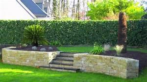 Jardin Paysager Exemple : paysagiste vannes youtube ~ Melissatoandfro.com Idées de Décoration