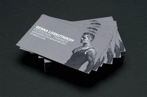 Personal trainer business card template description a personal trainer can utilize this business card to display contact information. Fitness Business Cards - Business Card Tips