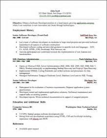 senior python developer resume developer resume developer resume sle