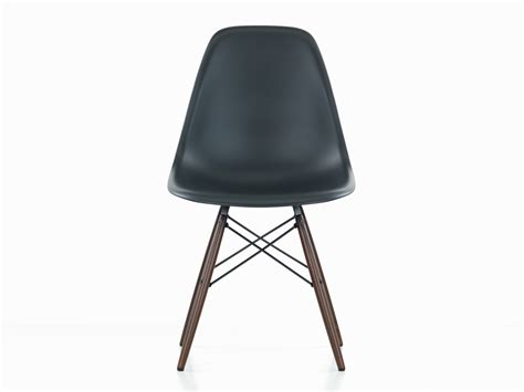 buy the vitra dsw eames plastic side chair maple base