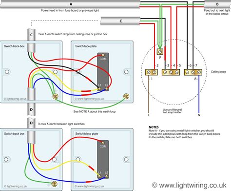 Electrical How Wire Light Controlled Two