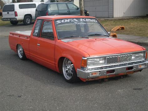 Bagged Datsun by 1980 Datsun Ext Cab Bagged Maintenance Restoration Of