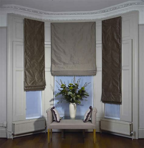 curtains  blinds  bay windows dressing bay windows