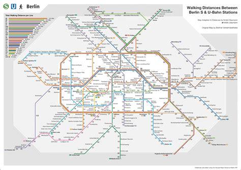 berliner karten die   bahn wanderkarte von kristin