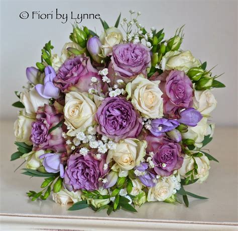 Wedding Flowers Blog Marilyn's Antique Purple And Cream