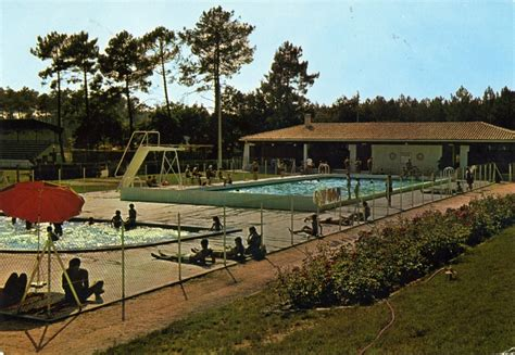photo 224 salles 33770 la piscine municipale carte postale de 1970 salles 163992
