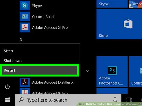 how to reduce disk usage on windows 10 11 steps with