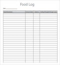Cold Call Sheet Template Pin Free Food Log Daily Food Log Printable Food Log Food Log Form On