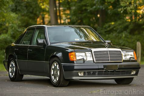 mercedes porsche 500e mercedes benz porsche collaboration the 500e rare