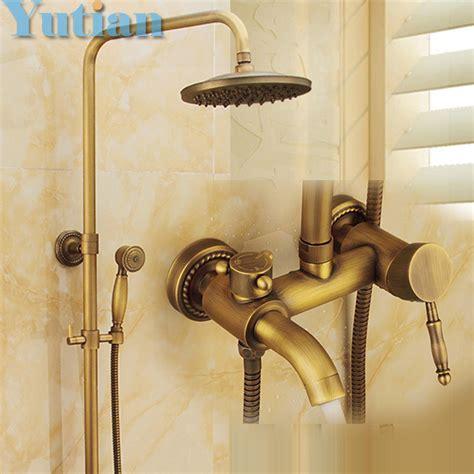 bathroom shower fixture sets aliexpress buy wall mounted mixer valve rainfall 16391