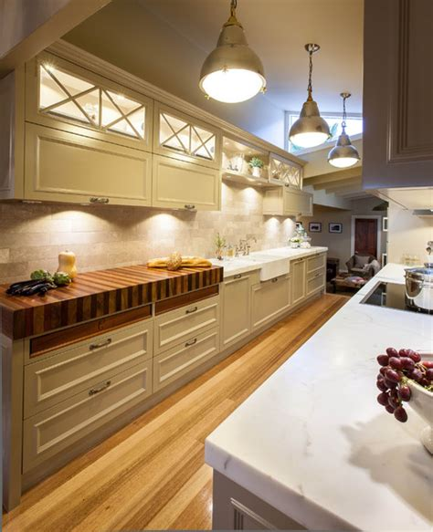 Kitchens With Butcher Block Counters  Kitchen Decor