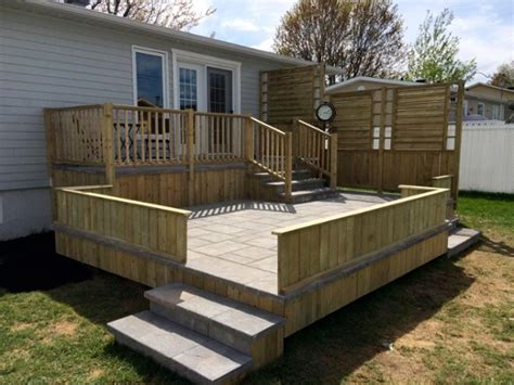 les meilleurs mat 233 riaux pour construire une terrasse sur 233 lev 233 e