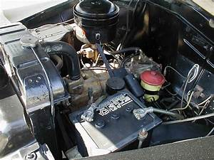 1949 49 Plymouth Engine Compartment