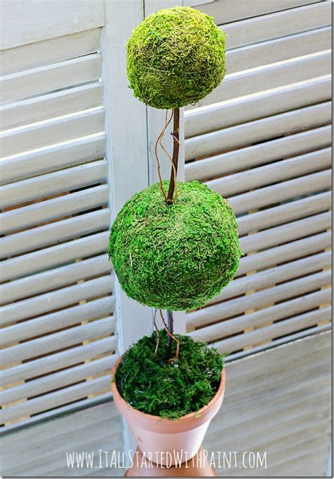 How To Make A Topiary  It All Started With Paint