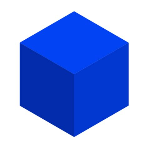 Image Cube 3d Cube Blue Www Imgkid The Image Kid Has It