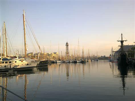 le port de barcelone sur freemages