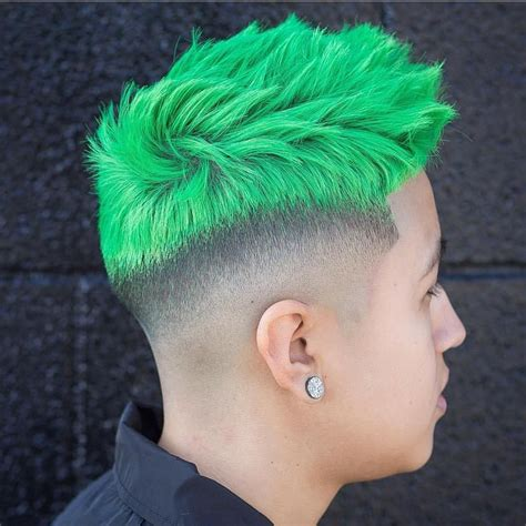 Hair Colors For With Green by Classic Hair Color For Guys Hair Color Hair