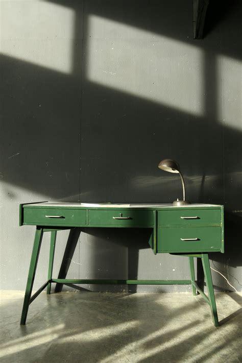 bureau retro retro vintage bureau jaren 60 groen wit dehuiszwaluw