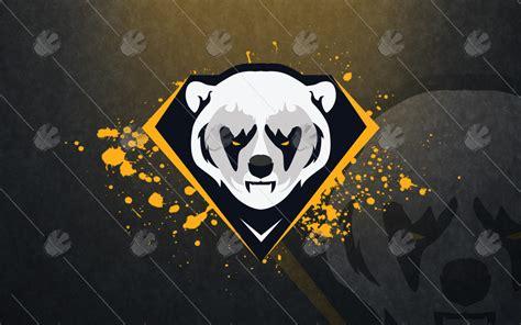 Polar Bear Mascot Logo For Sale Polar Bear Esports Logo