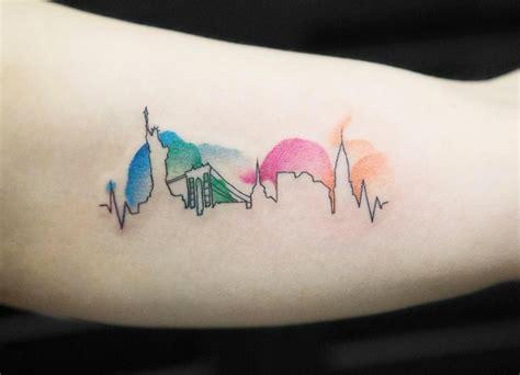 cityscape tattoos   worlds  beautiful