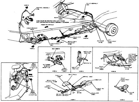 ford ranger brake  diagram diagram
