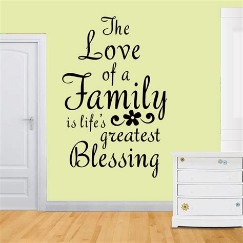 buy family quotes wall decals pvc vinyl