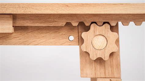craft  wooden gear extending table  renier winkelaar homeli