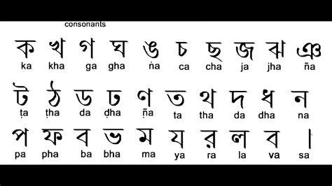 write bangla alphabet learn bangla language youtube