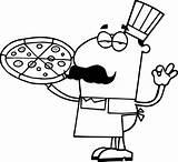 Coloring Pizza Restaurant Kolorowanki Dzieci Dla Chef Restauracje Rocks Restaurants Pusheen sketch template