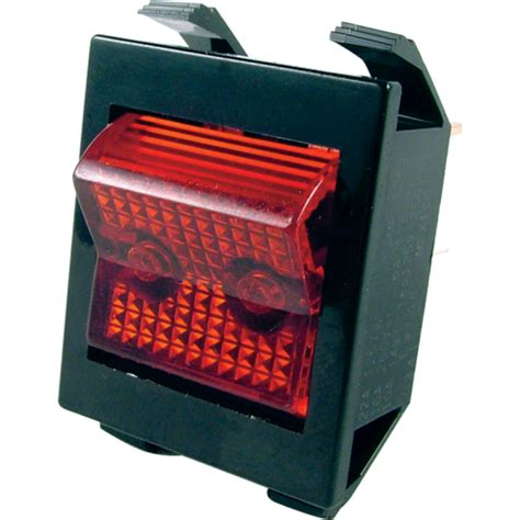 Switch Rocker Lighted Power Used Jcm Series