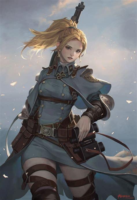 Girl In The Battlefield Haren Kim Han Seul On