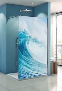 Duschwand Mit Motiv : profiltek dekordusche belus duschwand 8 mm motiv welle ~ Sanjose-hotels-ca.com Haus und Dekorationen