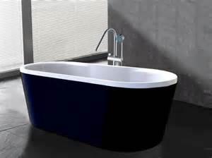 Baignoire Extérieure Design baignoire 238 lot design noir et blanche elena