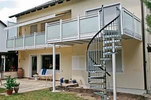 linder balkone zaune alu alubalkone alu balkonanbauten alu With französischer balkon mit garten wendeltreppe